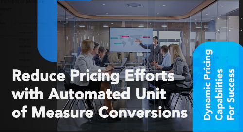 Reduce Pricing Efforts with Automated UоМ Conversions