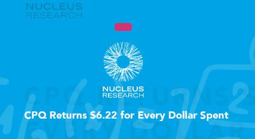 CPQ Returns $6.22 for Every Dollar Spent
