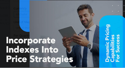 Incorporate Indexes into Price Strategies
