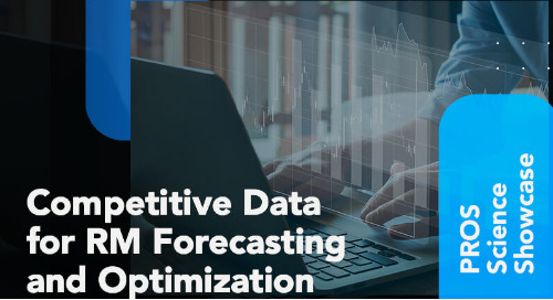 Competitive Data for RM Forecasting and Optimization