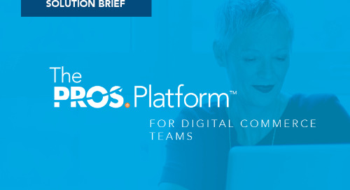 Digital Selling with the PROS Platform for eCommerce