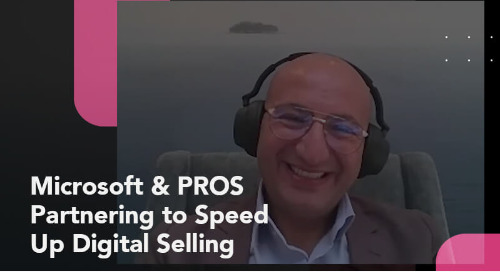 PROS & Microsoft: Partnering to Speed Up Digital Selling