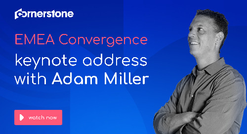 Convergence EMEA 2019 - CEO address with Adam Miller