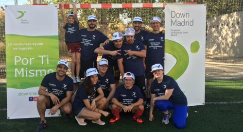 Un año más, jugamos al fútbol por la inclusión de las personas con síndrome de Down