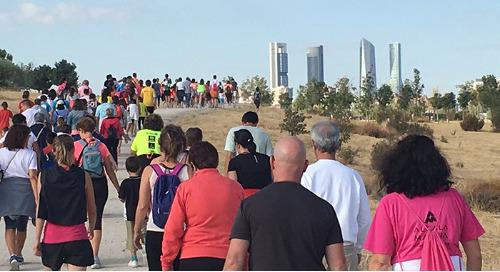 Empleados de Cornerstone España participan en la VI carrera Down Madrid
