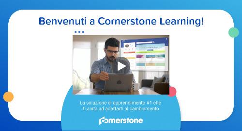 Benvenuti a Cornerstone Learning!