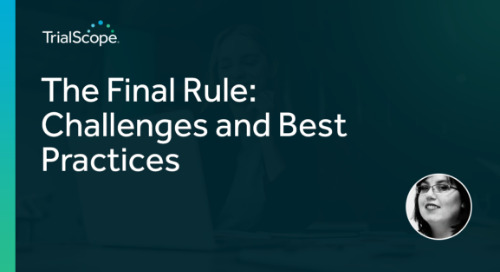 The Final Rule: Challenges and Best Practices