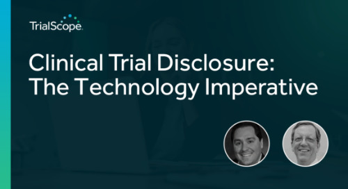 Clinical Trial Disclosure: The Technology Imperative