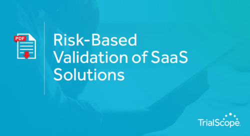 Risk-Based Validation of SaaS Solutions