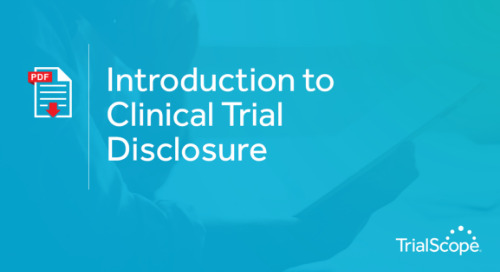 Introduction to Clinical Trial Disclosure