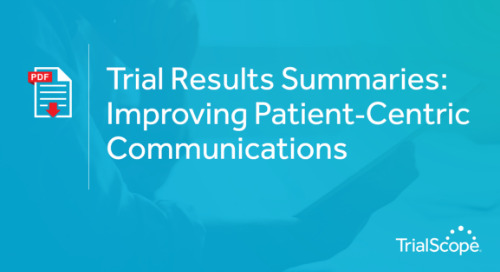 Trial Results Summaries - Improving Patient Communications