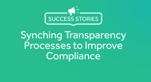 Syncing Transparency Processes to Improve Compliance