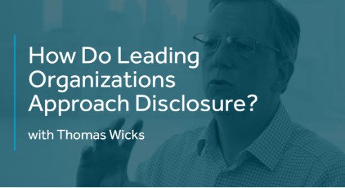 How Do Leading Organizations Approach Disclosure?