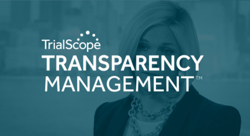 Introducing: Transparency Management with TrialScope