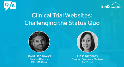 Clinical Trial Websites: Challenging the Status Quo