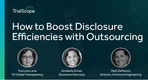 How to Boost Disclosure Efficiencies with Outsourcing