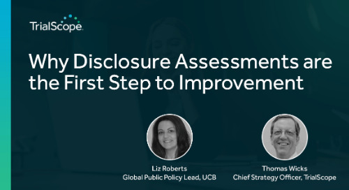 Why Disclosure Assessments are the First Step to Improvement