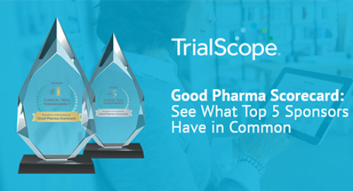 Good Pharma Scorecard: See What the Top 5 Sponsors Have in Common