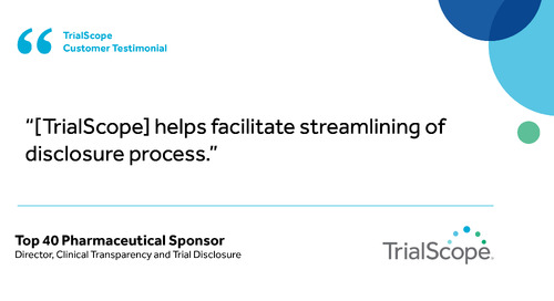 """Helps facilitate streamlining of disclosure process"""