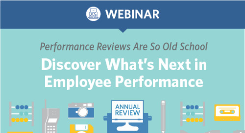 Performance Reviews Are So Old School