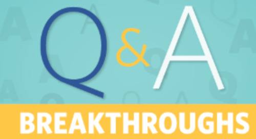 Breakthroughs: Through a Facilitator's Eyes with Mary Oursler
