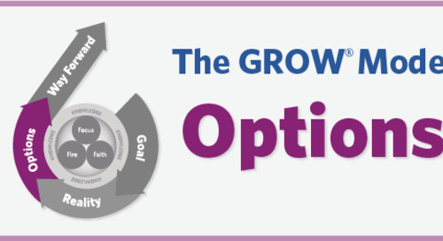 Considering and Evaluating Options Using the GROW Model