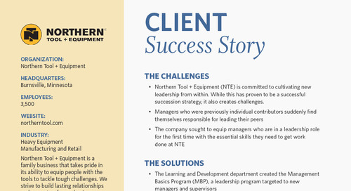 Empower Your Team's Critical Thinking: Northern Tool + Equipment's Success Story