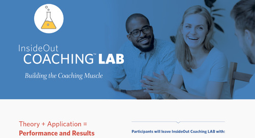 InsideOut Coaching LAB: Building the Coaching Muscle