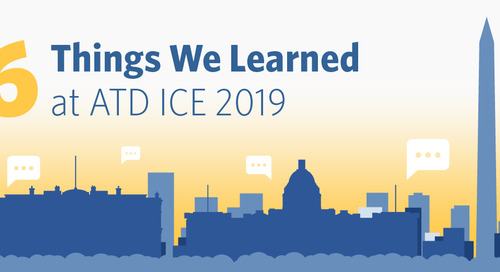6 Things We learned at ATD ICE 2019