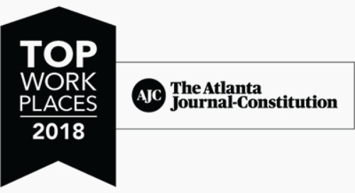 Coyote Named to the Atlanta Journal-Constitution's 2018 Best Workplaces List