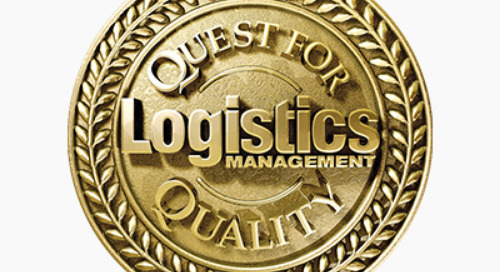 Coyote Named to Logistics Management Quest for Quality Awards