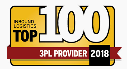 Coyote Named to Inbound Logistics 2018 Top 100 3PL Providers List