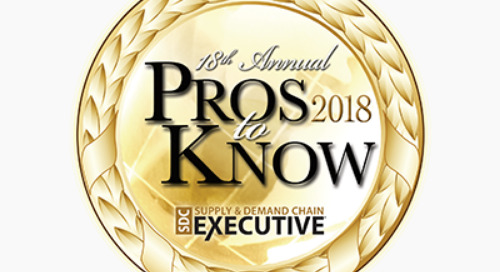 Coyote President Jonathan Sisler Named to Supply & Demand Chain Executive's 2018 Pros to Know Awards