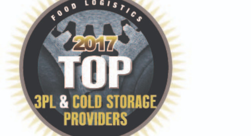 Coyote Named to Food Logistics Top 3PL & Cold Storage Providers List
