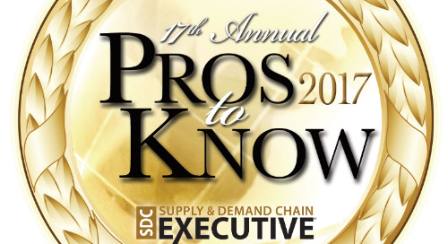 CEO Jeff Silver Named to Supply & Demand Chain Executive 2017 Pros to Know Awards