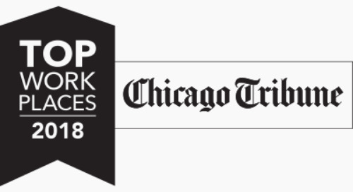Chicago Tribune Names Coyote a 2018 Top Workplace