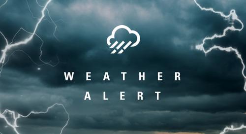CUSTOMER ALERT: Hurricane Florence