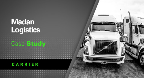 Madan Logistics Jumpstarts Successful Trucking Business with Peak Season