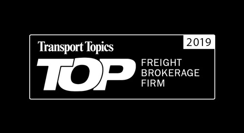 Coyote Named a 2019 Top Brokerage Firm by Transport Topics