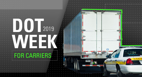 DOT Week 2019: Four Ways Carriers Can Prepare