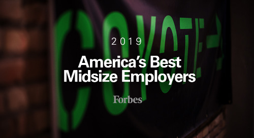 Forbes Ranked Coyote Logistics Among America's Best Midsize Employers for 2019