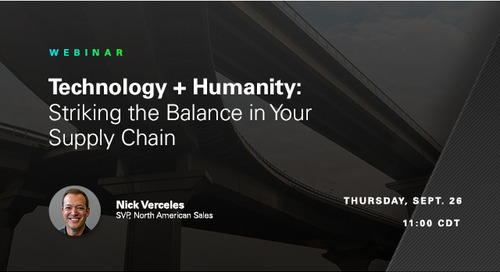 WEBINAR: Striking the Balance Between Technology + Humanity