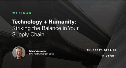 WEBINAR: Striking the Balance Between Technology + People