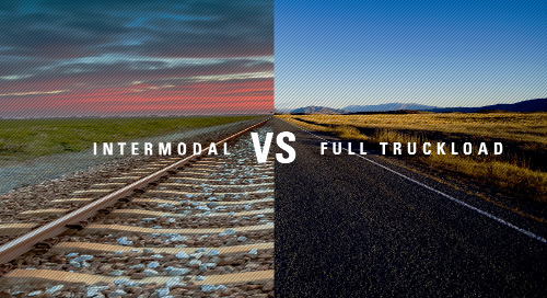 Intermodal vs. Full Truckload: 4 Things Every Shipper Should Know