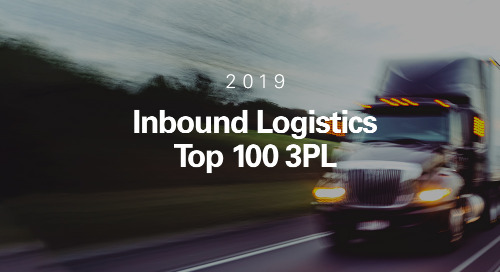 Inbound Logistics Names Coyote a Top 100 Third-Party Logistics Provider for 2019