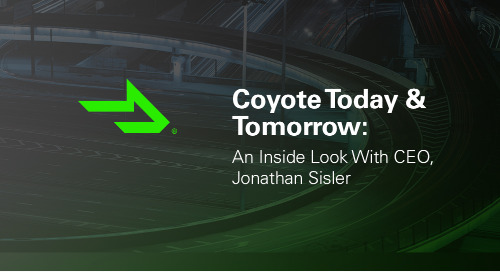 Coyote Today & Tomorrow: An Inside Look With CEO, Jonathan Sisler