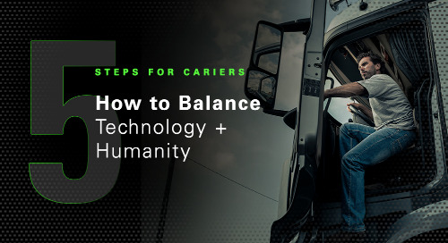 How to Balance Technology + Humanity: 5 Steps for Carriers