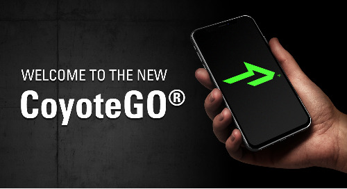 CoyoteGO® Carrier App Re-Launches with Updates to Meet User Needs
