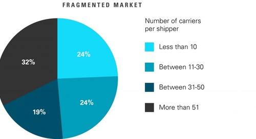 New Research Says 50% of Companies in Europe Rely on Over 30 Carriers