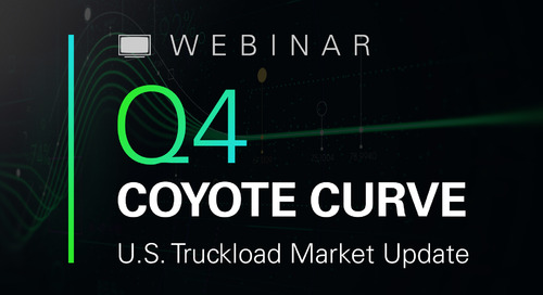WEBINAR: Q4 2019 Truckload Market Forecast
